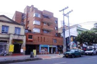 Apartamento en Quinta Camacho-Bogotá, cuenta con 3 habitaciones y 2 baños.
