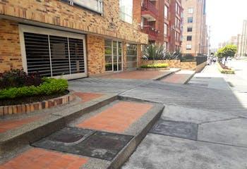 Apartamento en Victoria Norte, Bogotá - parqueadero cubierto independiente y depósito