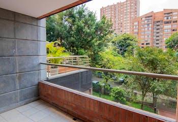 Apartamento de 205m2 en El Poblado, Sector Milla de Oro - con tres alcobas